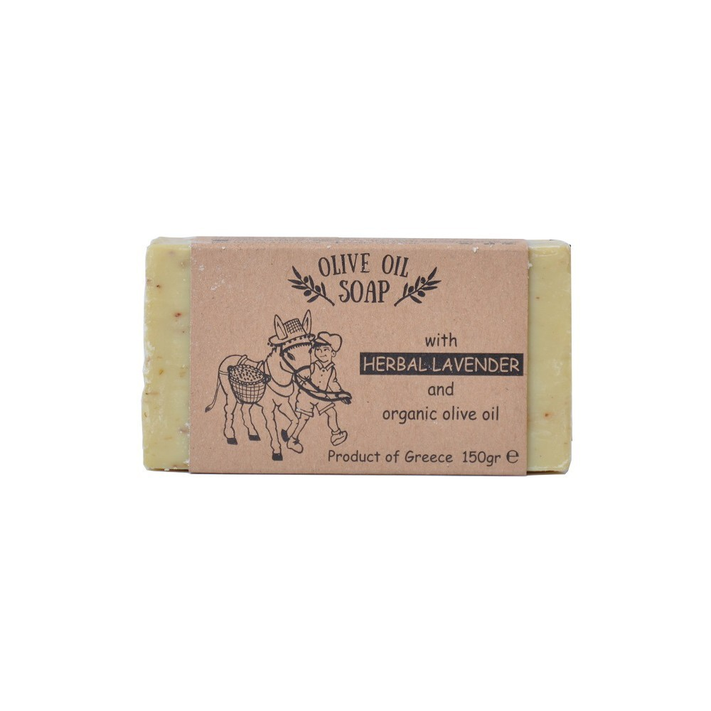 Olive oil soap with herbal lavender  aloe
